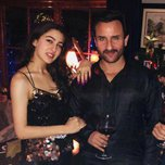 Sara and Saif at a house party