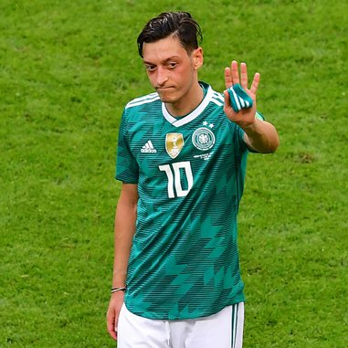 Ozil was a key part of Germany's 2014 World Cup-winning team