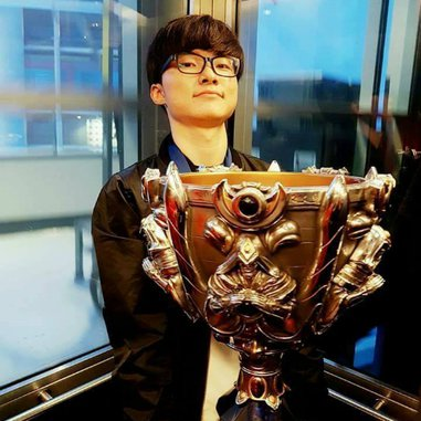 Faker is sponsored by SK Telecom, South Korea's top wireless operator